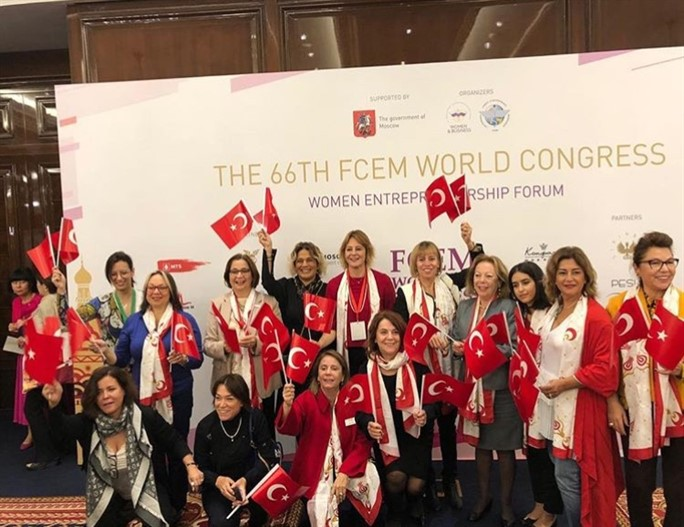 KAGİDER attended to FCEM World Congress 2018 in Moscow with a strong delegation