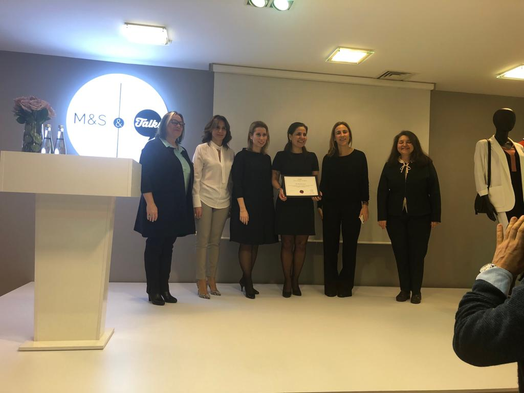 Equal Opportunity Model Certificate from KAGİDER to FIBA Retail Group